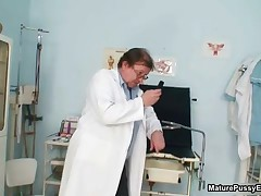 Horny Doctor Loves Abusing A Dirty Old Mom Her Tight Ass By MaturePussyExams