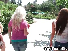 Busty Blond Bimbo Gets Her Pussy Fucked 1 By BangTeamFive