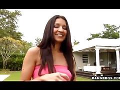 Ann Marie Rios - Ann Marie Rios Outdoor Handjob