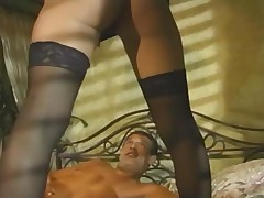 Deep Fucking And Anal Sex In Heels And Sheer Stockings