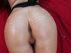 Casey Cumz - Stunning Brunette Pornstar Casey Cumz Glistened Her Big Ass With Oil And Get Ripped Har