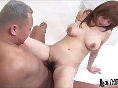 Busty Japanese Milf Into A Sticky And Steamy Hardcore Banging 4 By JpnHD