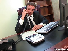 Ashlyn Rae - Office Whore Ashlyn Rae Blowing Her Boss Stiff Rod And Gets Stuffed