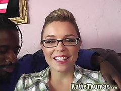 Katie Thomas And Nathan Threat - She Is Quite Cute Really