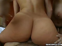 Carmella Bing And Chayse Evans - Ass Parade - Double Ass Action Pack