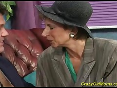Elegantly Old Mom Fucks A Younger Cock Like A True Slut That She Is!