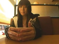 Shy Japanese teen