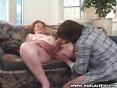 Nan Proves She Is Not Too Old To Suck Or Fuck