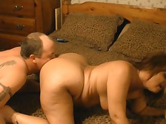 Mature emo couple fucks at home