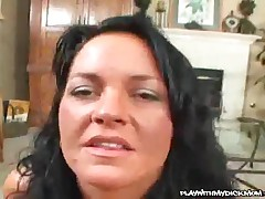 Dakota Reed - Brunette MILF Plays With Young Dick