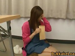 Asian Babe Gets Bukkake 4 By BukkakeLoad