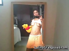 Busty Adorable Latina Nude Phone Pics On The Mirror 1 By LatinaGFexposed