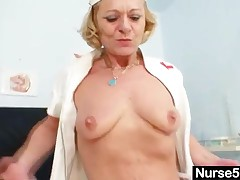 Very Horny Aged Wife Over 50 Is A Head Nurse In A Gyno Clinic And Loves To Use Gyno Instruments For