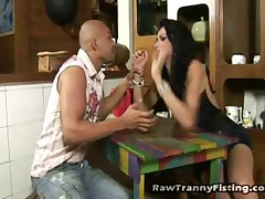 Marcia Kelly And Eric Vieira - Raw Tranny Fisting