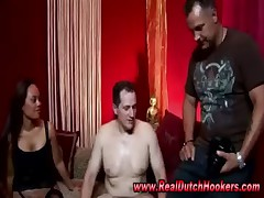 Real european hooker gets fucked by amateur guy in reality sex