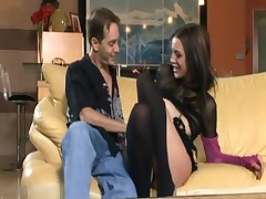 Deja Daire - Skinny Deja Daire Fucking In Stockings And Pumps