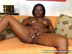 Laysa Ferraz And Alan Black And Jhonatha Kawa - Black And Bisexual