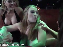 Lizz Tayler - Horny Bitches With Bouncy Big Tits Ambush A Male Stripper And Take Turns Giving Him A