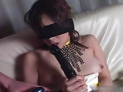 Blindfolded Asian Babe Gets Fucked With Dildo 3 By AmazingJav