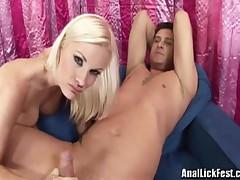Brandi Edwards And Eden Adams - Filthy Slut Licking Ass