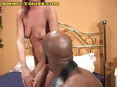 Spring Thomas - Spring Gets Her Ass Eaten By A Black Stud