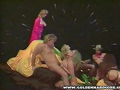 Orgy Group Sex Party From The 1980s
