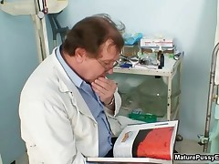 Dirty Old Doctor Abusing His Sexy Mature Female Patients By MaturePussyExams