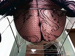 Camdiva - POV Of A Dominant Female In Fishnets Sitting Over Your Face