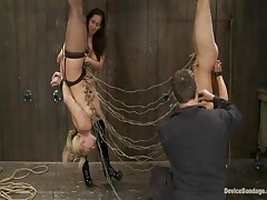 Isis Love And Mellanie Monroe And Tara Lynn Foxx - Device Bondage