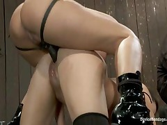 Isis Love And Alicia Stone And Sienna - Device Bondage