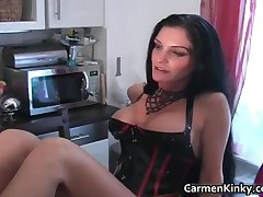 Bigtit Carmen In Amazing Sexy Bdsm Outfit Having Nice With Some Guy 3 By CarmenKinky