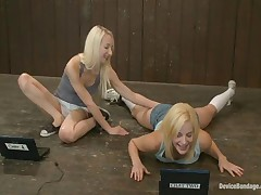 Princess Donna Dolore And Ashley Jane And Ally Ann - Device Bondage