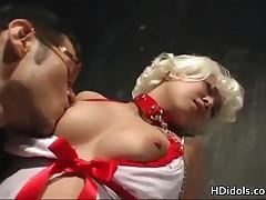 Yuki Takazawa - Yuki Takazawa Blond Bondage Girl 2 By HDidols