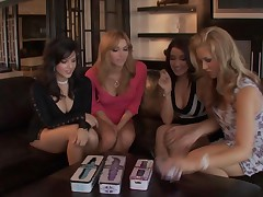 Ann Marie Rios And Sara Sloane And Heather Vandeven And Sunny Leone - Girlfriends #2