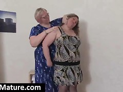 Two Fat Mature Lesbians Sucking Their Big Jugs