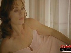 Joanna Preiss - Its Breakfast In Bed Action Thatll Leave You Rock-hard, Sexy Joanna Preis Takes An E