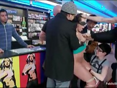 Girl Anal Fucked In Public Store
