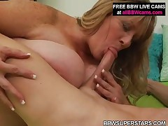 Dee - Mature Bbw Has Fun With White Guy  Chubby Pussy Part 2