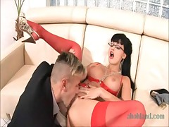 Aletta Ocean HD 720p TAG brunette stockings pantyhose nylons big boobs tits busty hardcore slutty