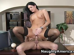 India Summer - My First Sex Teacher - Professor India Summer Gets Fucked In Her Sexy Stockings