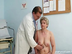 Ruzena - Mature Fat Pussy Ruzena Gyno Speculum Bizzare Clinic Exam