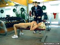 Puma Swede - MILF Soup - The MILF Naked Gym Workout