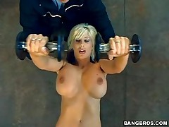 Puma Swede - MILF Soup - The MILF Naked Gym Workout