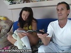Shy And Innocent Teen Gets Seduced By A Horny Old Senior By TeensLoveOldGuys