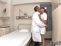Aya - Nurse Aya In Sexy Lingerie Fucked In A Crazy Gangbang 1 By JpnHD