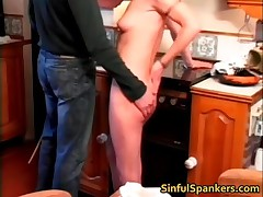 Steamy Skank Was Being Naughty And Getting Her Ass Whipped Till Its All Red 5 By SinfulSpankers