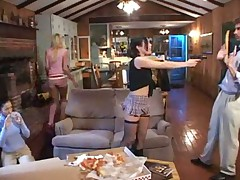 Funny porn with Ashley Blue Ashley Moore & Flick Shagwel