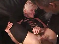 White wife gets fucked by black guy
