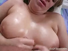 Ex girlfriend does handjob sex