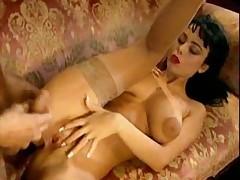 Euro Star Anita Dark In Threesome